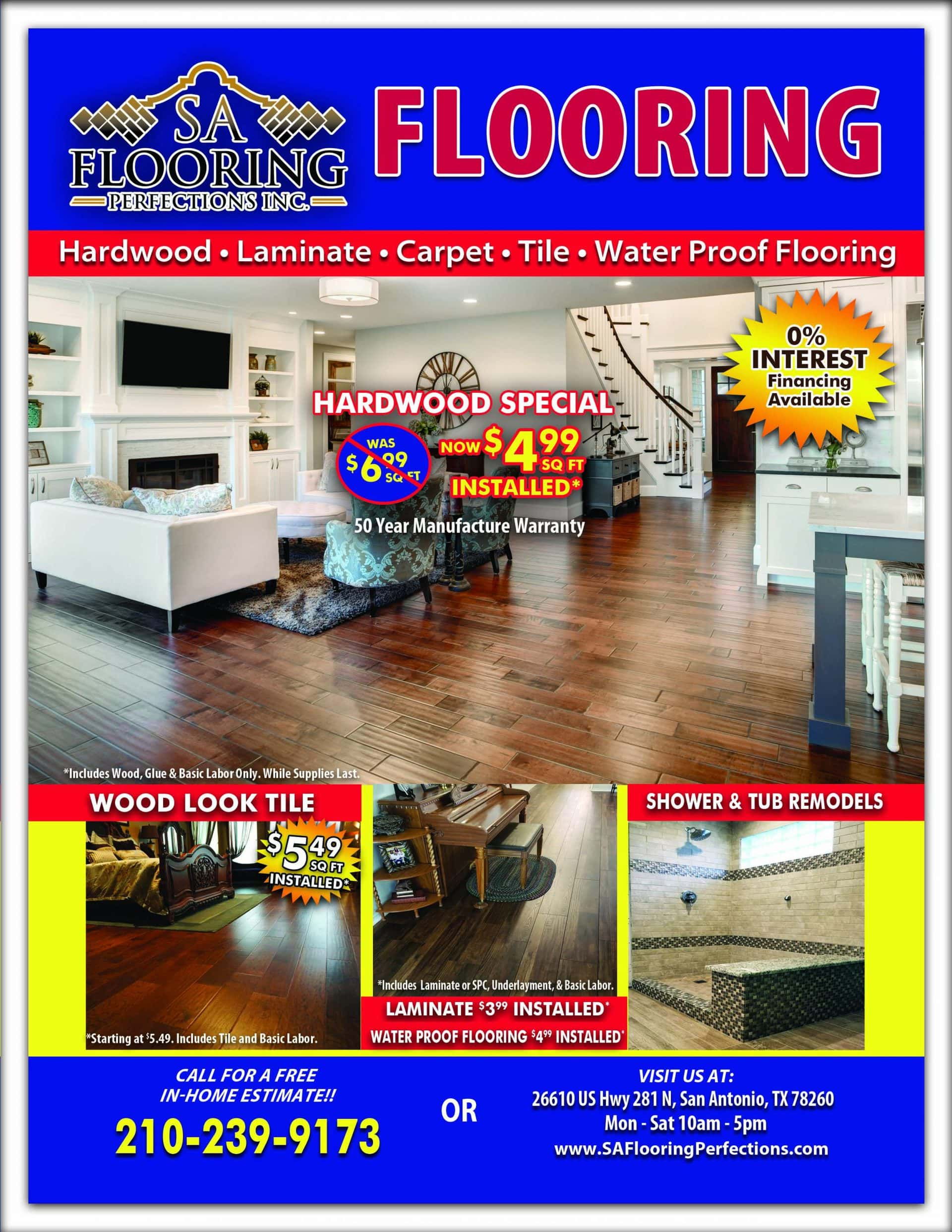 February Sa Flooring Deals Magazine